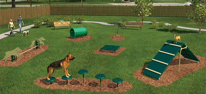 Dog Park Playground Equipment | Bliss Products and ...