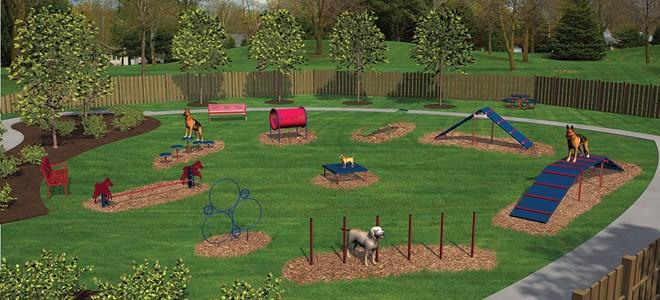Dog Park Playground Equipment