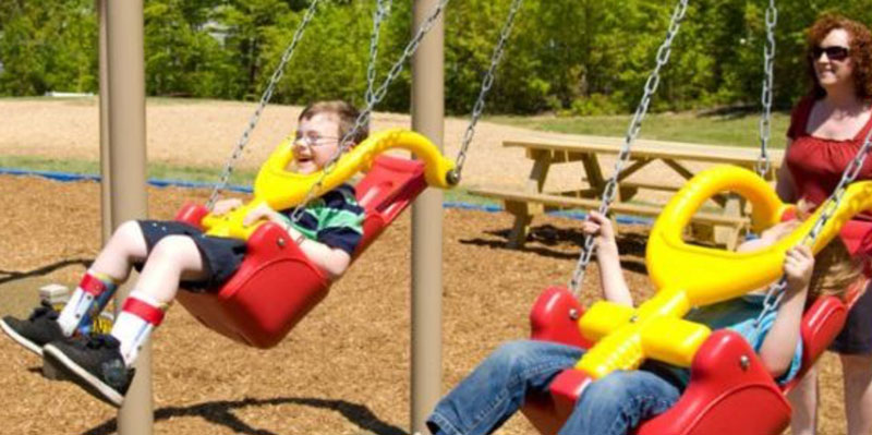 Inclusive Handicap Accessible Playground Equipment Bliss