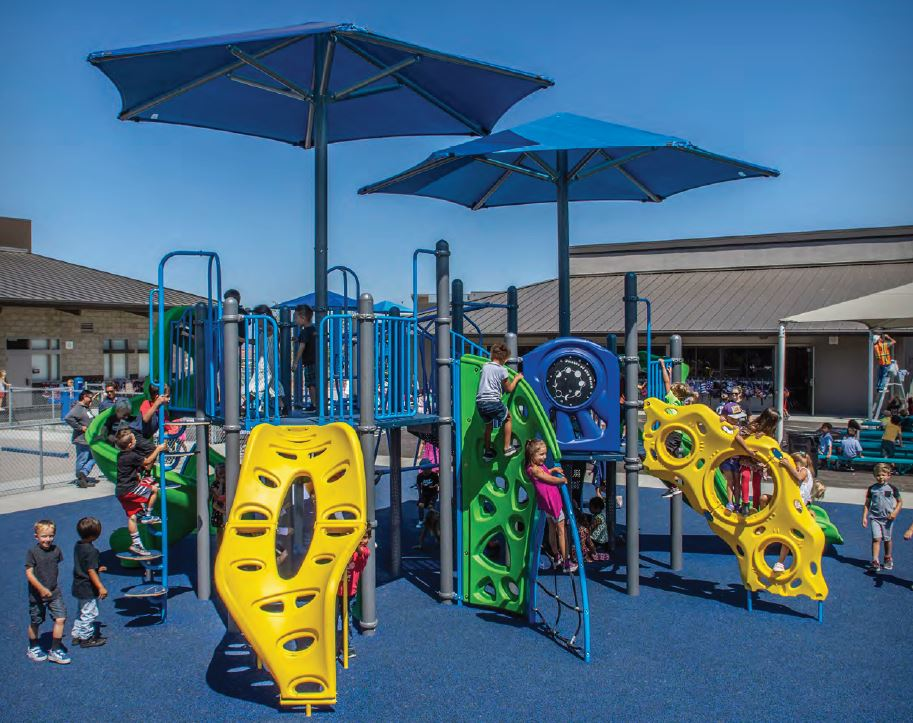 Elementary & Middle School Playground Equipment