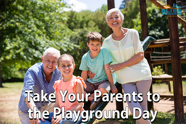 Take Your Parents To The Playground Day