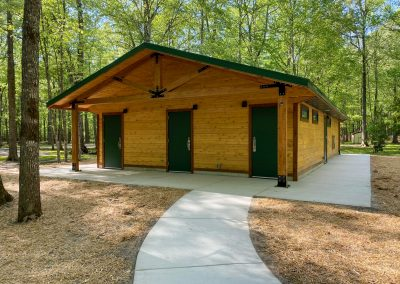 Northwest River Park Camping Buildings