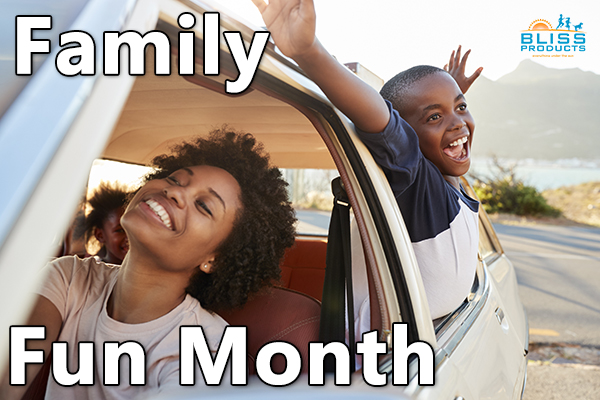 Family Fun Month August 2021