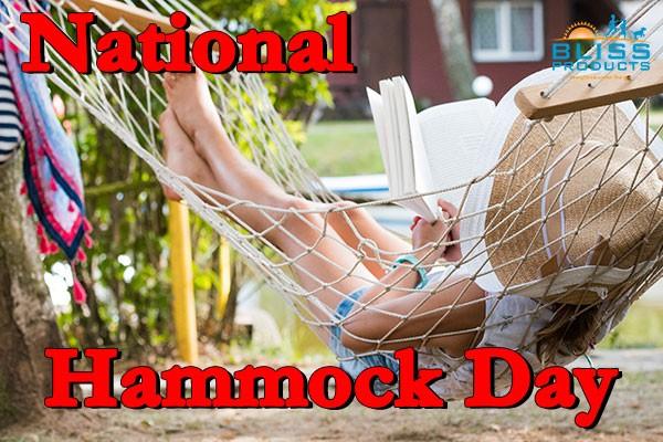 National Hammock Day